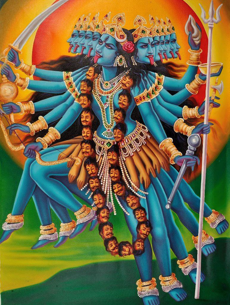 De godin Kali