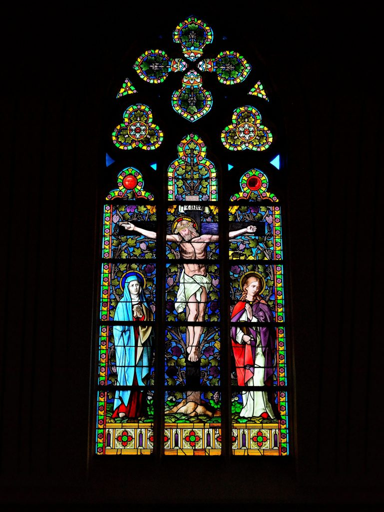 Glas-in-lood, kerk onbekend